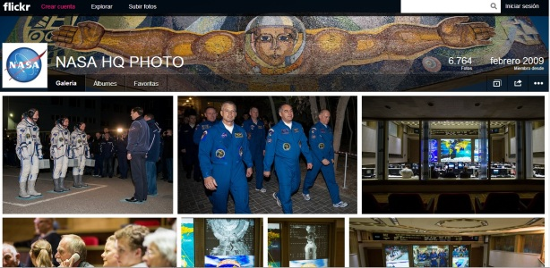 Nasa en flickr