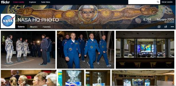 Nasa en flickr