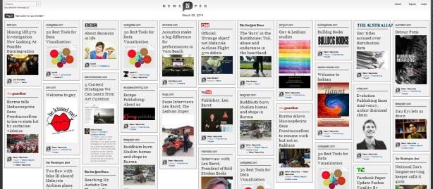 Newspeg web