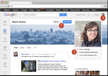 perfil Googleplus