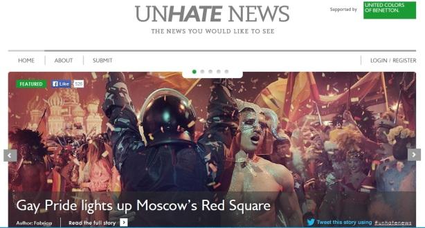 Unhatenews web