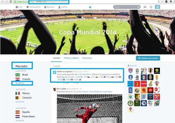 captura WorldCup Twitter